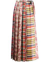 Pierre Louis Mascia Rosa プリーツスカート Multicolor