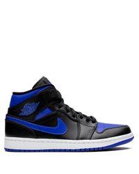 メンズ Nike Air 1 Mid スニーカー Blue