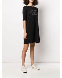 Emporio Armani ロゴ ドレス Black
