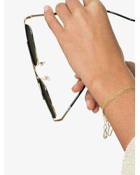 Rosa De La Cruz U ダイヤモンド ブレスレット 18kイエローゴールド Metallic