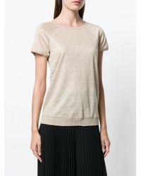 Max Mara Natural Short Raglan Sleeve T-shirt