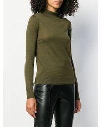 Jersey con cuello alto Ermanno Scervino de color Green