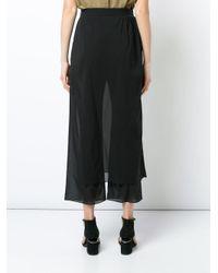 Rachel Comey Black Swish Pants