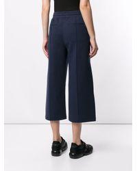 Calvin Klein クロップド トラックパンツ Blue