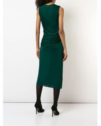 Vestido sin mangas Jason Wu Collection de color Green
