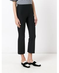 Theory Black Cropped Pants