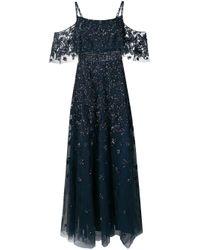 Платье С Кристаллами Zuhair Murad, цвет: Blue
