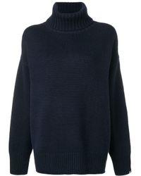 Extreme Cashmere タートルネック セーター Blue