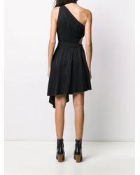 Versace Jeans ワンショルダー ドレス Black