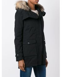 Woolrich - Black 'scarlett' Eskimo Jacket - Lyst