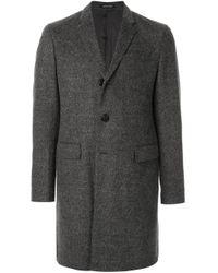 メンズ Emporio Armani シングルコート Gray