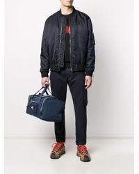 Tommy Hilfiger Reisetasche mit Logo-Patch in Blue für Herren