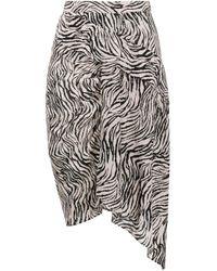 Isabel Marant ゼブラプリント スカート Multicolor