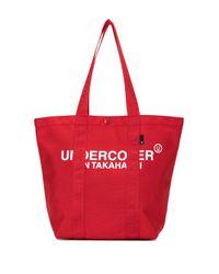 Сумка-тоут С Логотипом Undercover для него, цвет: Red