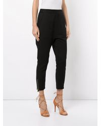 Manning Cartell Black Ring Leaders Slouch Trousers