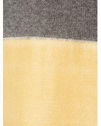 Marni - Gray Colour Block Jumper - Lyst