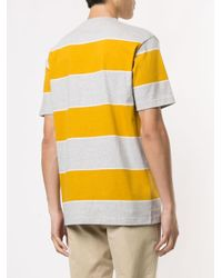 メンズ Norse Projects ストライプ Tシャツ Yellow