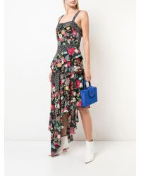 Nicole Miller フローラル ドレス Multicolor
