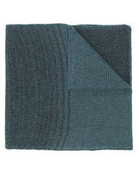 Sciarpa lavorata a maglia di Stephan Schneider in Blue