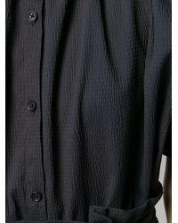 Henrik Vibskov Exhale テクスチャードシャツ Black