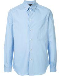 メンズ N°21 スリムフィット シャツ Blue