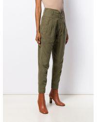 Pantalon Harem FRAME en coloris Green
