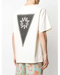 メンズ Rhude グラフィック Tシャツ Multicolor