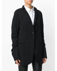 Rundholz - Black Ruched Sleeve Jacket - Lyst