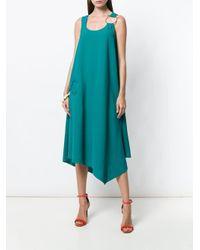 Ferragamo ガンチーニ ドレス Blue