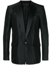 Пиджак-смокинг В Полоску Givenchy для него, цвет: Black
