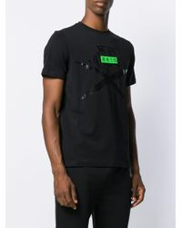 Philipp Plein T-Shirt mit Krallen-Print in Black für Herren