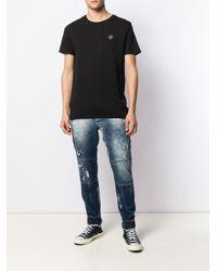 メンズ Philipp Plein Rock Pp Tシャツ Black