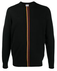Paul Smith Gestreifter Pullover in Black für Herren