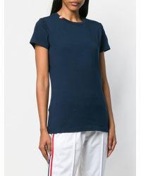 Rossignol ストライプ Tシャツ Blue