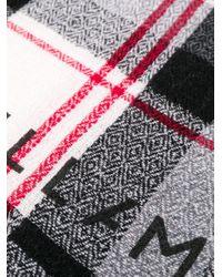 Stella McCartney チェック スカーフ Multicolor