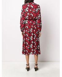N°21 フローラル ドレス Red