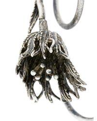Midgard Paris - Metallic Thistle Wrap Earrings - Lyst