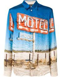 メンズ N°21 Motel シャツ Blue