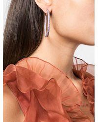 Créoles Evie Nickho Rey en coloris Pink