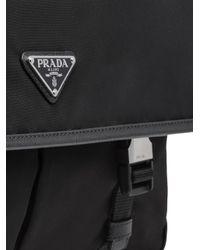 Borsa messenger di Prada in Black da Uomo