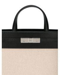 Saint Laurent Black Handtasche im Hybrid-Design