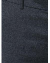 Ralph Lauren - Gray Slim Fit Trousers - Lyst