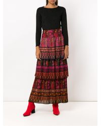 Cecilia Prado Black Natalina Knit Blouse