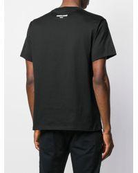 メンズ Roberto Cavalli ラインストーン Tシャツ Black