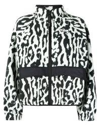 Nike Nsw レオパード ジャケット Gray