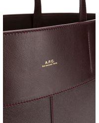A.P.C. ロゴ ハンドバッグ Multicolor