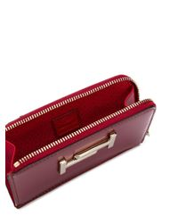 Tod's Double T キーホルダー Red