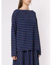 T-shirt rayé à manches longues Rachel Comey en coloris Blue