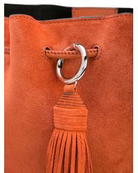 Sac à bandoulière Lulu Rebecca Minkoff en coloris Orange