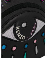 A4 Eye leather clutch KENZO en coloris Black